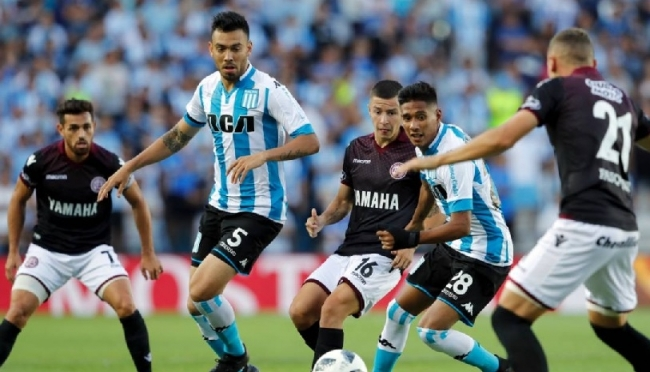 Historial entre Racing vs Lanus