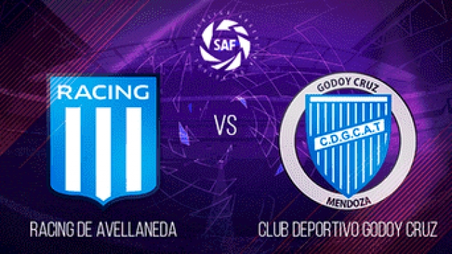 Racing 3-0 Godoy Cruz - Fecha 19 Superliga Argentina