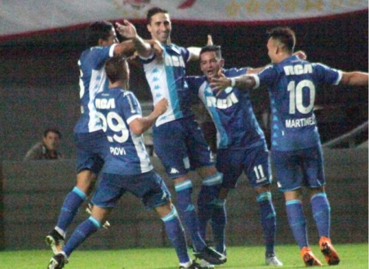 Superliga - Fecha 26 -  Estudiantes 1-2 Racing - Resumen del partido
