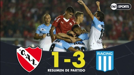 Independiente 1.3 Racing - Fecha 20 - Superliga Argentina