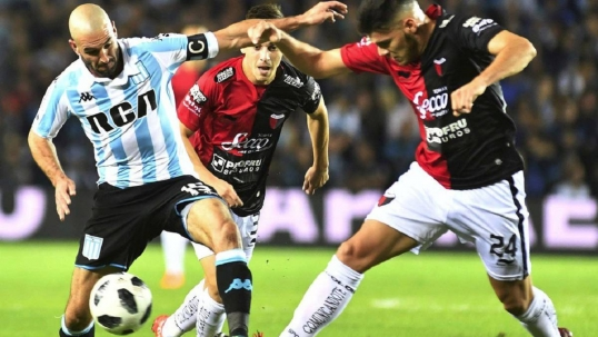 COLON 1-1 RACING - Relatos de Ramiro Gregorio por Racing24 Radio Online -